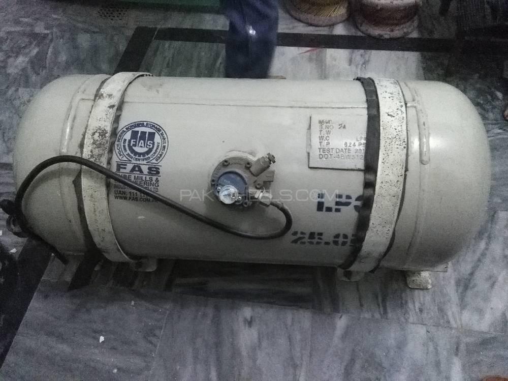 Imported Tesla LPG Kit FAS Cylinder Image-1