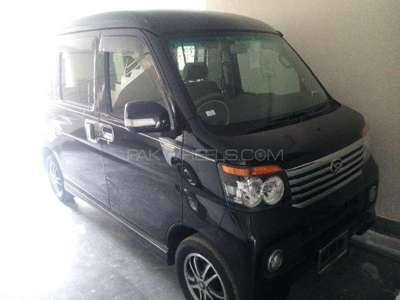 Daihatsu Atrai Wagon CUSTOM TURBO R BLACK EDITION 2011 Image-1