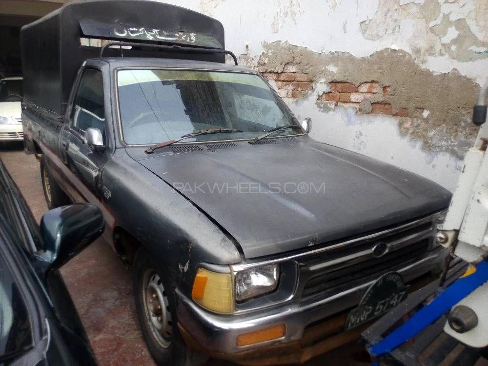 Toyota Hilux Single Cab 1991 Image-1