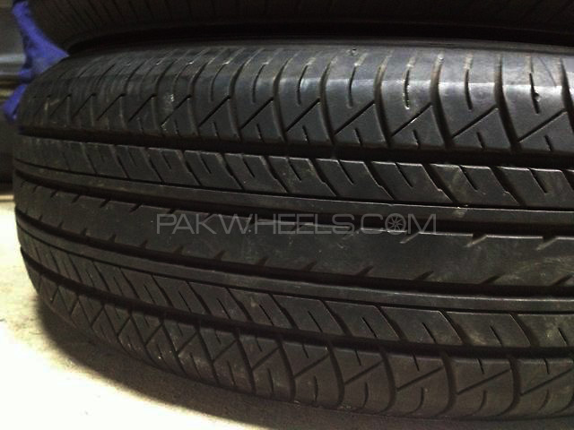195/65r15 yokohama tyres imported used very good condition  Image-1