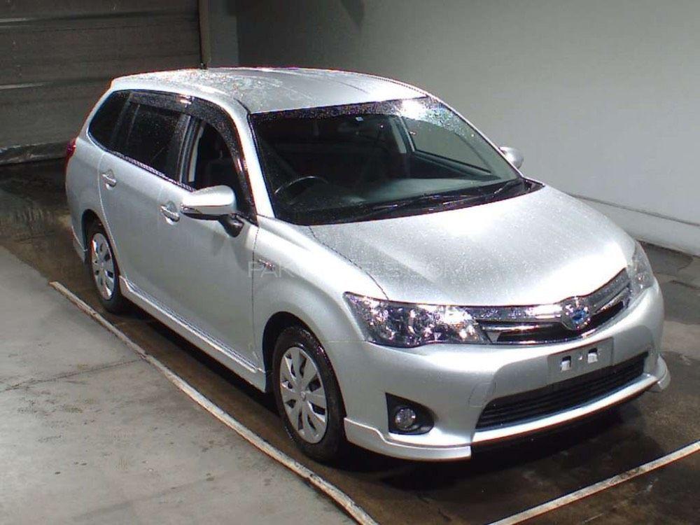 Toyota Corolla Fielder Hybrid 2013 For Sale In Faisalabad Pakwheels