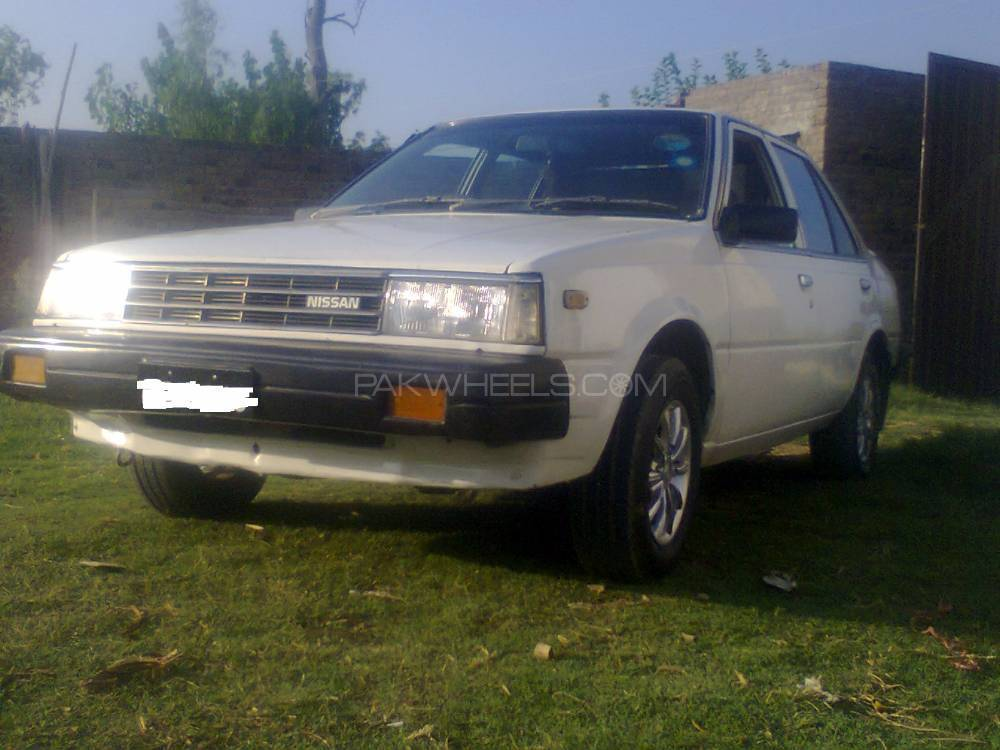 Nissan Sunny EX Saloon 1.3 (CNG) 1984 Image-1