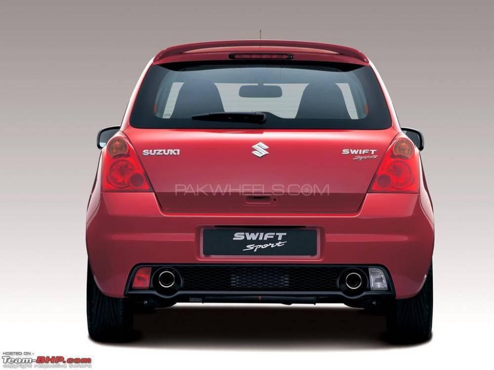 Swift Rear GTi Bumper Image-1