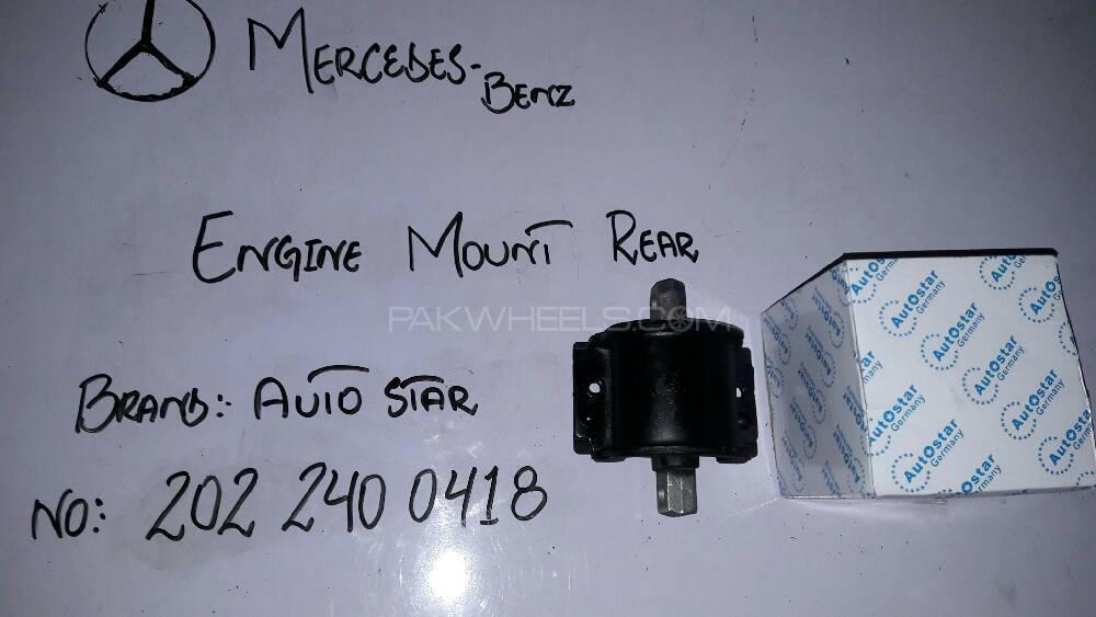 MERCEDES-BENZ : Engine Mount Rear Image-1