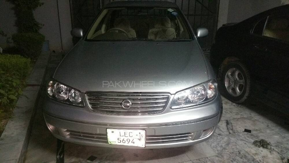 Nissan Sunny EX Saloon 1.6 (CNG) 2009 Image-1