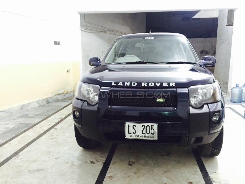 Land Rover Freelander 2002 Image-1