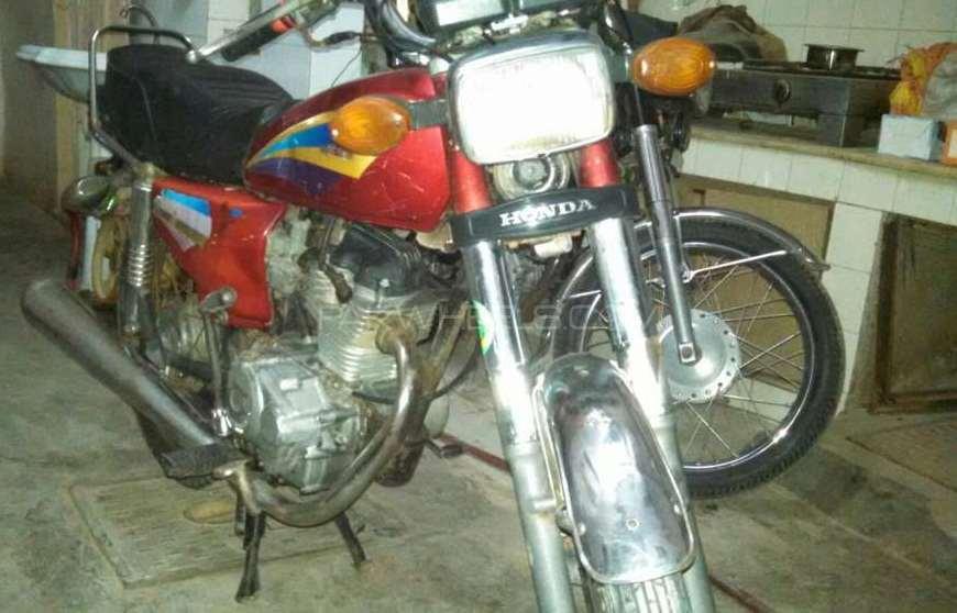 Honda CG 125 2003 Image-1