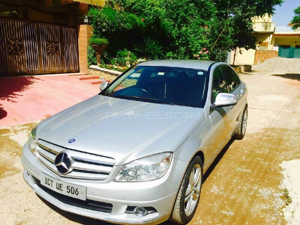 mercedes benz c class c200 2007 for sale in islamabad pakwheels. Black Bedroom Furniture Sets. Home Design Ideas