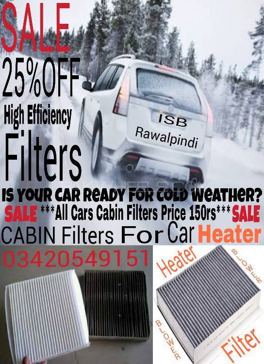 Cabin Heater/AC Filters Image-1