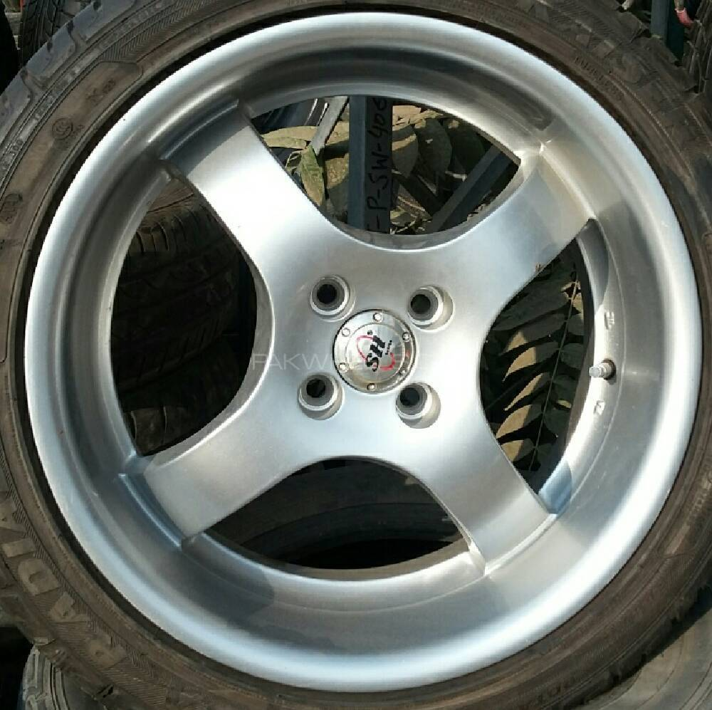 R17 deep dish rims for sale Image-1