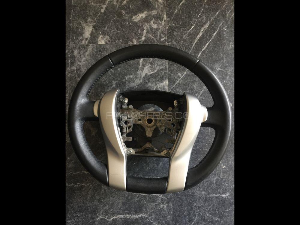 Aqua Prius leather steering genuine Image-1