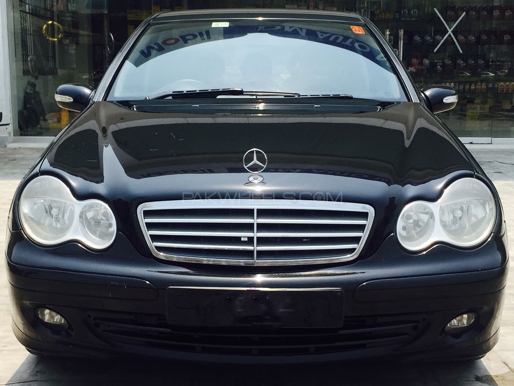 mercedes benz c class 2006 for sale in lahore pakwheels. Black Bedroom Furniture Sets. Home Design Ideas