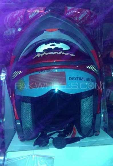 Bluetooth unbreakable helmet Image-1