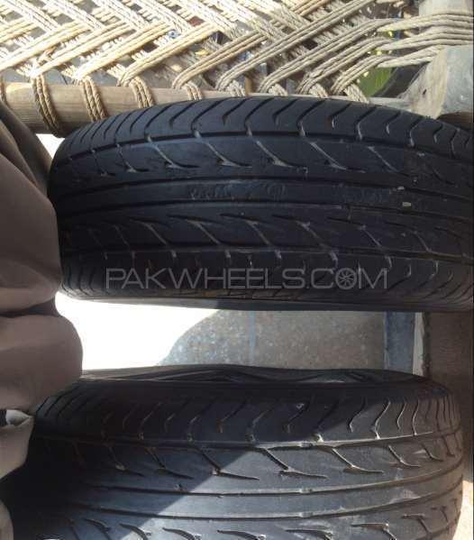 Dunlop 15 tyres set Image-1