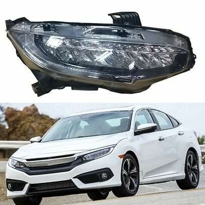 Honda civic 2016 Led HeadLights Image-1