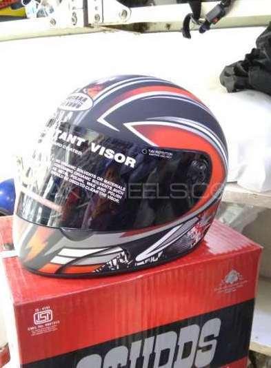 Original STUDDS Indian Helmet Image-1