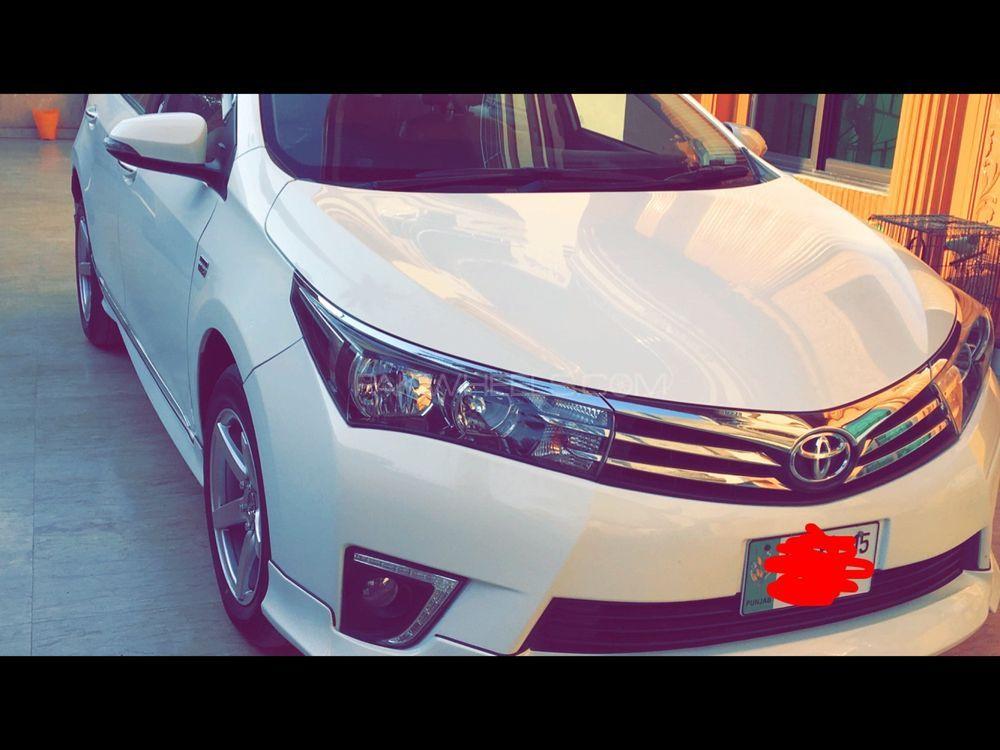 Toyota Corolla Altis Grande CVT-i 1.8 2015 Image-1