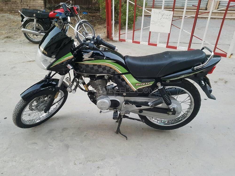 Honda CG 125 Deluxe 2013 Image-1