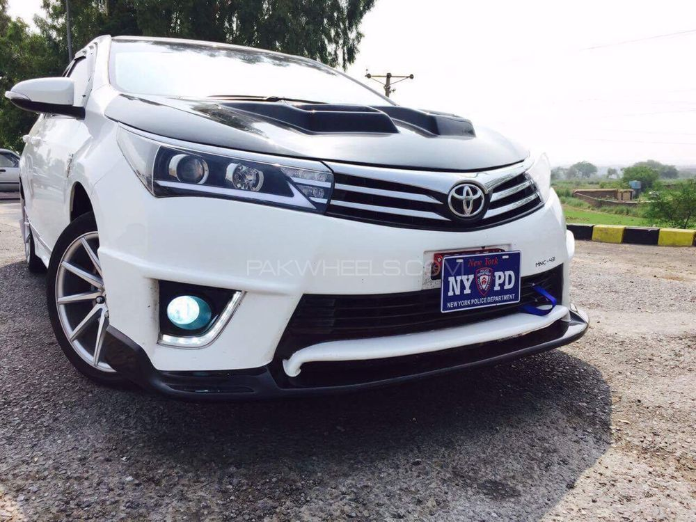 corolla 2015 complete bumper extension  TRD style for sale Image-1