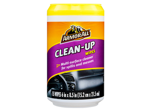 ArmorAll Clean Up Wipes - 15 Wipes in Lahore