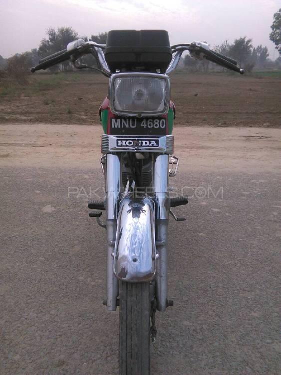 Honda CG 125 1997 Image-1