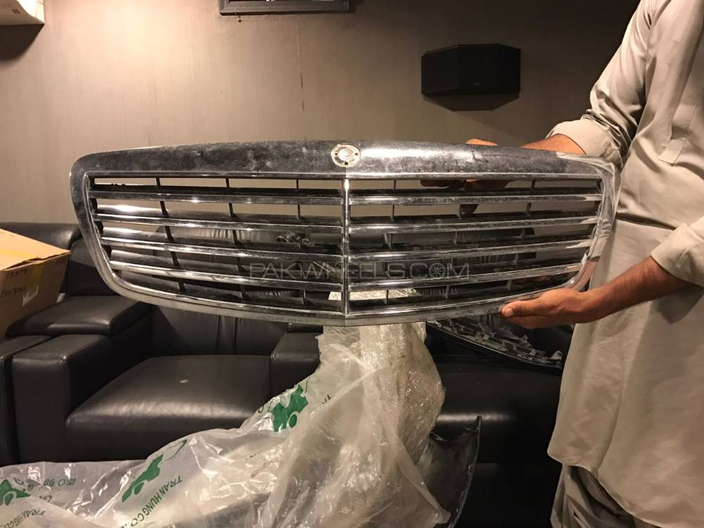 Mercedes s class front grill Image-1