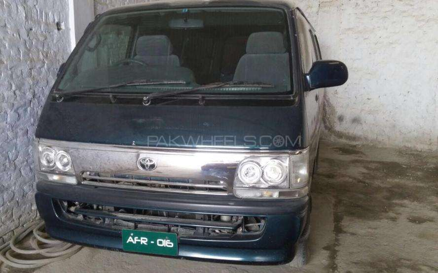 Toyota Hiace High-Roof 3.0 2001 Image-1