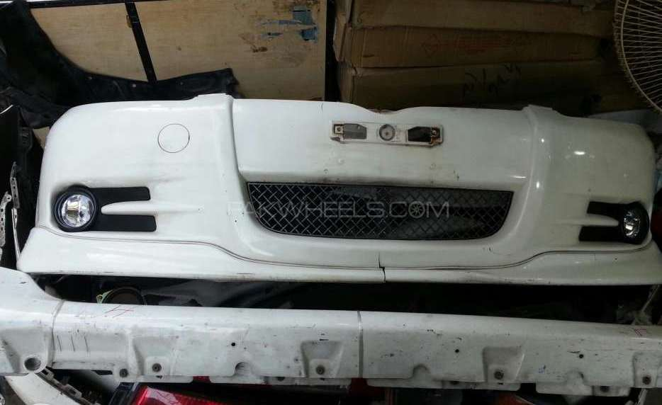 Toyota vitz rs bumper set Image-1