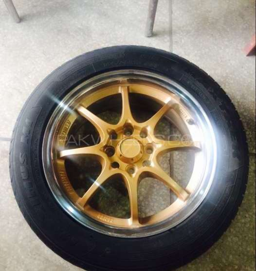 Sports rims tyre size 15 inch Image-1