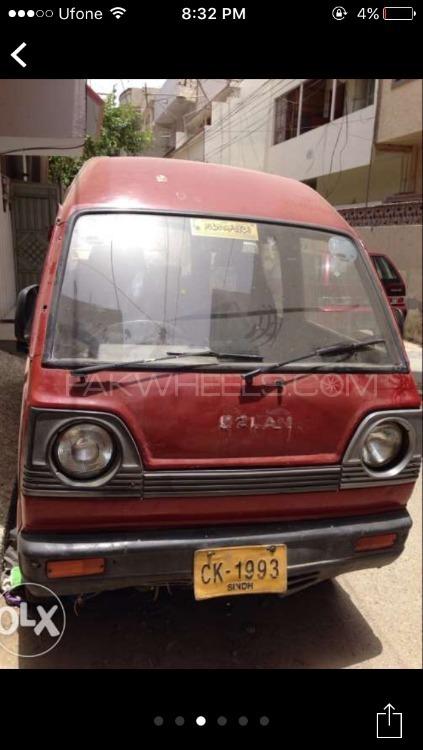 Suzuki Bolan 1997 Image-1