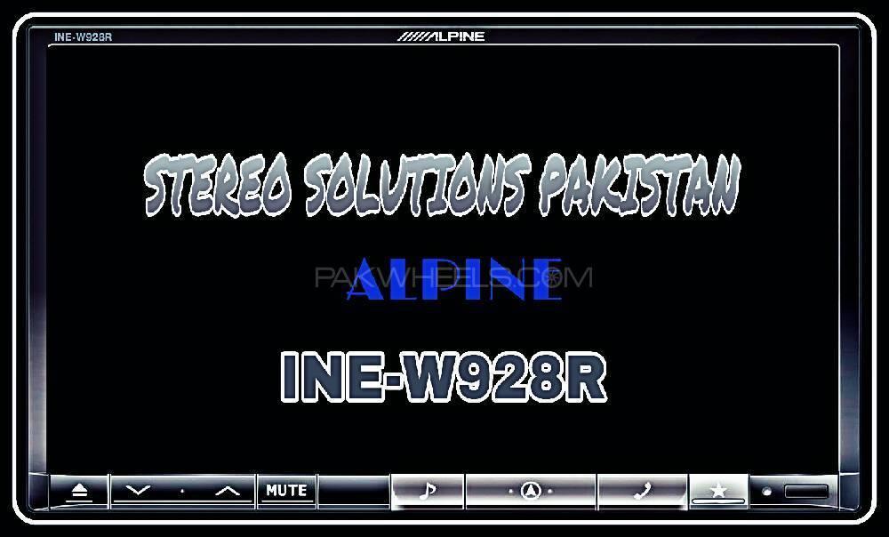 ALPINE 8 INCH LCD DVD PLAYER FULL ENGLISH LANGUAGE.  Image-1