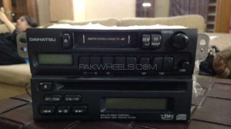 Cassete and cd player Image-1