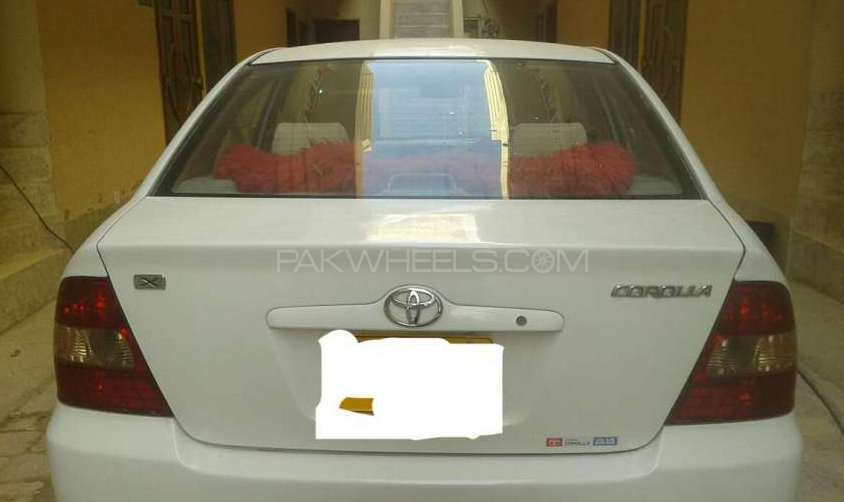 Toyota Corolla X 1.5 2001 Image-1
