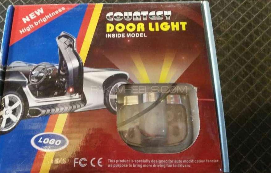 Car door shadow lights Image-1