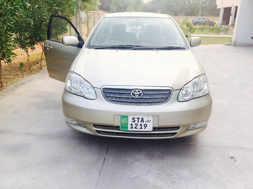 Toyota Corolla Altis 1.8 2007 Image-1