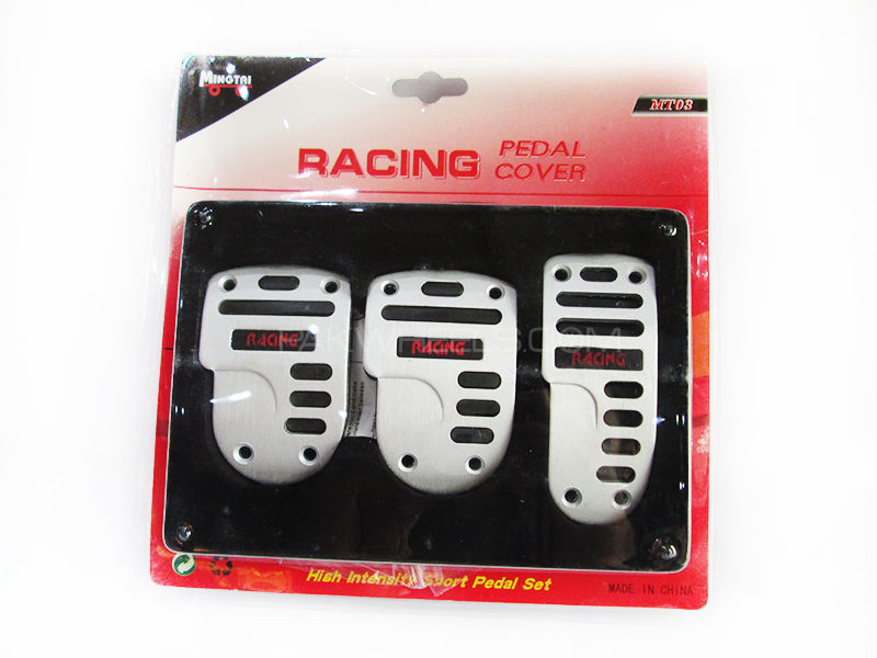 Padel Cover Racing Silver & Black - MT-03 Image-1