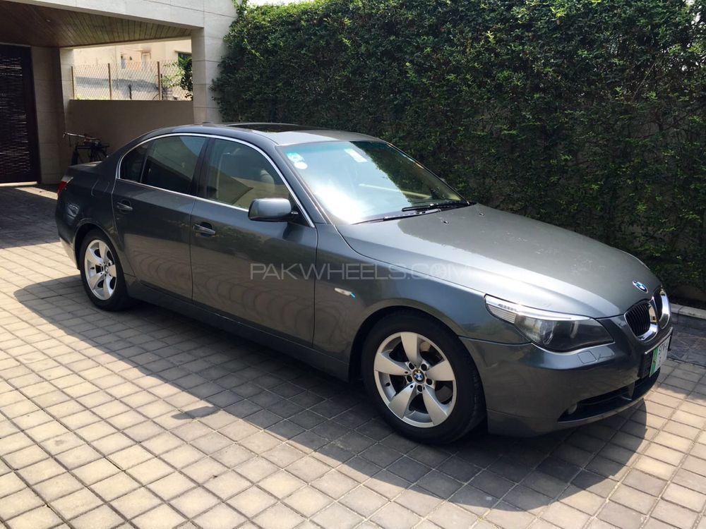 bmw 5 series 530i 2007 for sale in lahore pakwheels. Black Bedroom Furniture Sets. Home Design Ideas