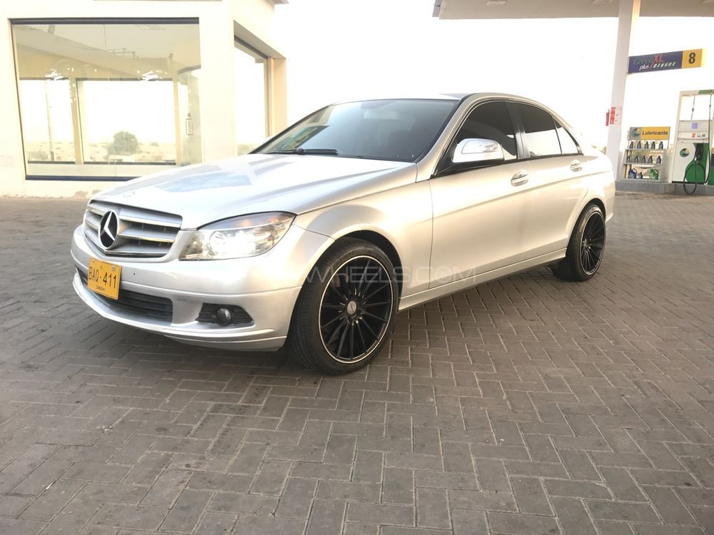 mercedes benz c class c180 2007 for sale in karachi. Black Bedroom Furniture Sets. Home Design Ideas
