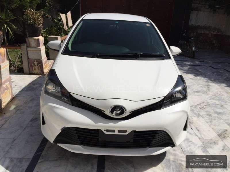 Toyota Vitz 2016 For Sale In Lahore Pakwheels