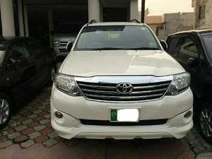 Toyota Fortuner TRD Sportivo 2013 for Sale in Lahore