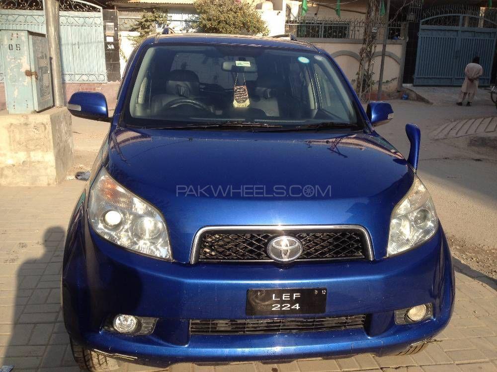 Toyota Rush G 2007 Image-1