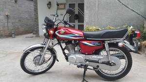 Honda CG 125 2015 for Sale in Rawalpindi
