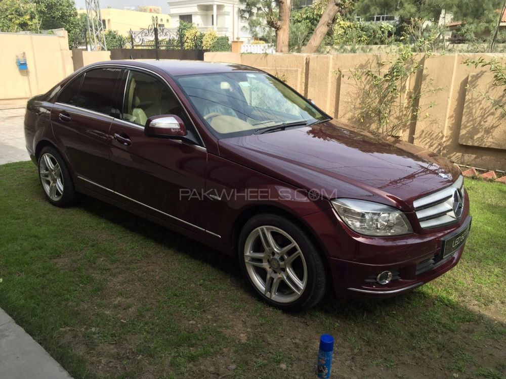 mercedes benz c class c200 cdi 2007 for sale in lahore pakwheels. Black Bedroom Furniture Sets. Home Design Ideas