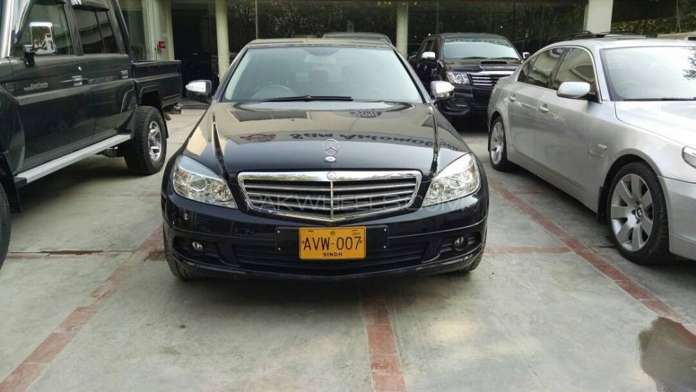 Mercedes benz c class c200 2008 for sale in karachi for Mercedes benz c class 2008 for sale