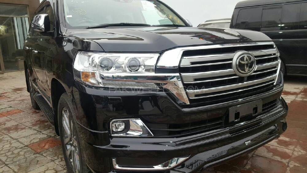 toyota land cruiser zx 2017 for sale in lahore pakwheels. Black Bedroom Furniture Sets. Home Design Ideas