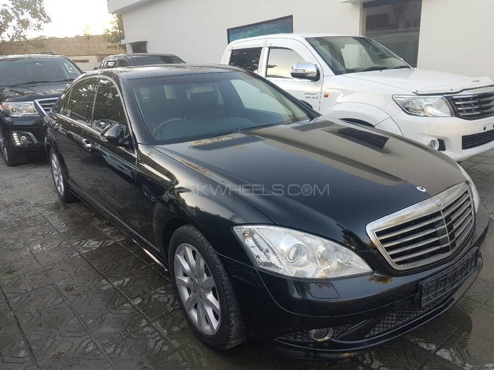 mercedes benz s class s500 2008 for sale in karachi