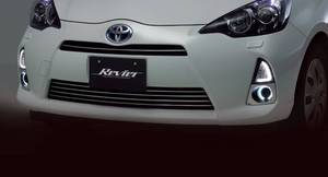 Toyota Aqua DRL 3D Winker Lens with Turn Signals (Japanese) in Lahore