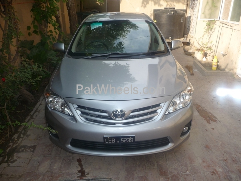 Toyota Corolla Altis Cruisetronic 1 6 2012 For Sale In