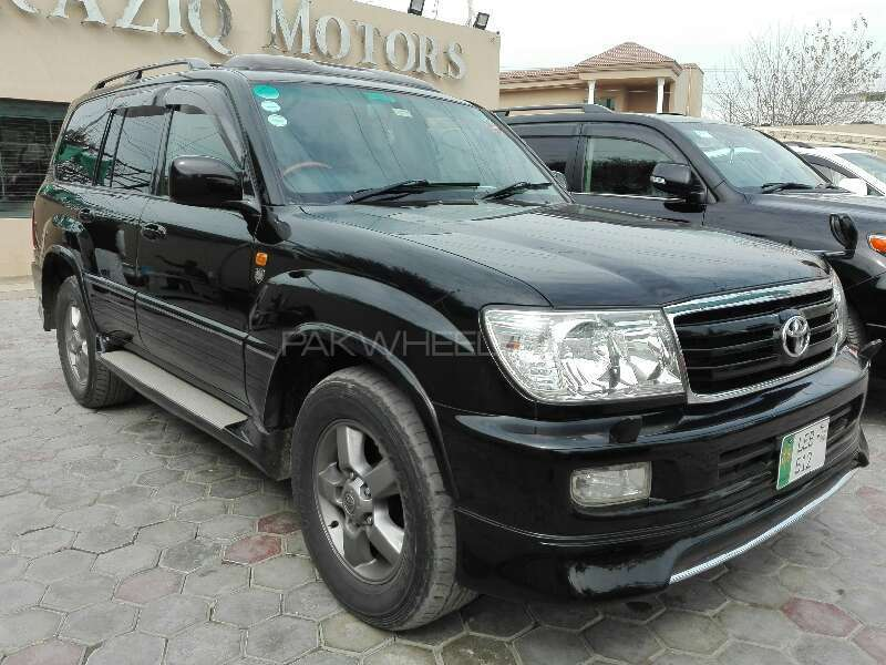 toyota land cruiser vx limited 4 2d 2005 for sale in lahore pakwheels. Black Bedroom Furniture Sets. Home Design Ideas