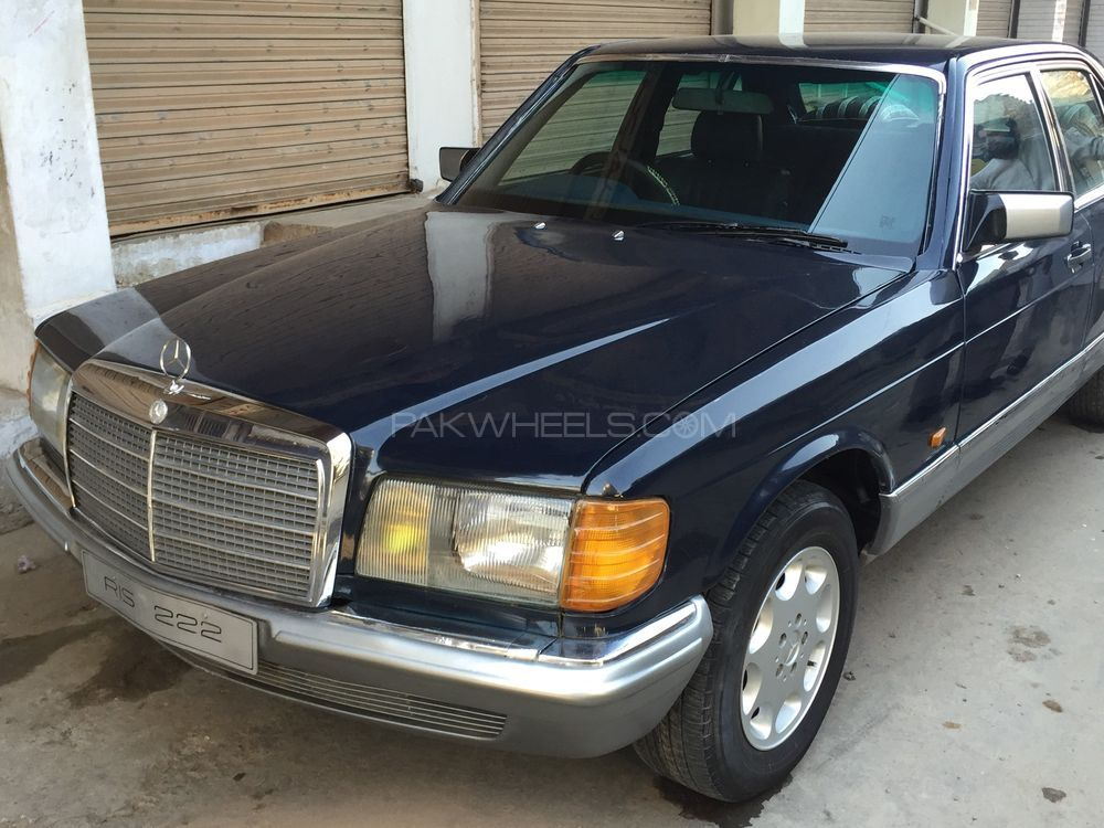 Mercedes benz s class s280 1983 for sale in faisalabad for Mercedes benz s280 for sale